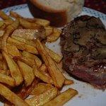 beefsteak with truffles