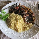 octopus with couscous