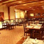 Upper floor dining area