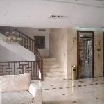 Stairway to Mezzanine / Restuarant