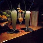 Fabulous Mamounia and Bellini Mamounia cocktails!