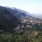 Hillside town near cazorla