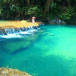 One of the pools of Semuc Champey