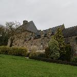 Le parc et la chapelle