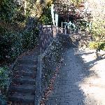 神社の入口階段