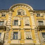 la facciata storica