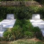 Both of the Graves of Berry and Duane with thier childrens angels in front of them