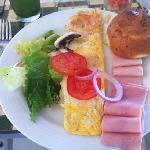 excelente desayuno