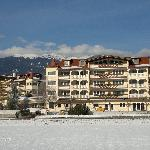 l'hotel visto dagli impianti di plan