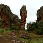 Formações areníticas, Parque de Vila Velha