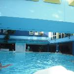 Pool in the hotel