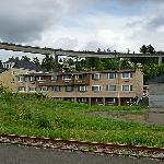 Astoria Dunes Motel, die Rückseite