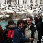 at Trevi Fountain