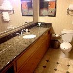 Bathroom in room 1203.