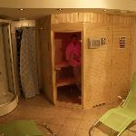 Private sauna for our guests