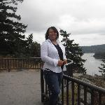 me at deception pass overlook