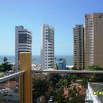 paisagem do hotel