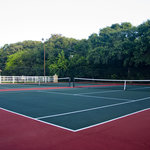 Two Tennis Professional Tennis Courts
