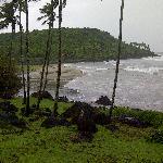 Khavane Beach - Aerial view