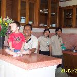 Our 3 servants@Villa Cempaka, Sanur - Made the chief cook, Komang the chambermaid &  Ketut the h