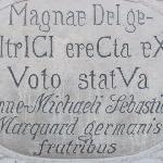 inscription Mariensäule