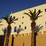 Sun vs. shadow in Essaouira
