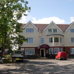 The Royal Hotel, sunny Mundesley
