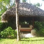 Garten der Royal Beach Junior Suite