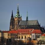 Prague Castle in Dec 2011