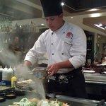 """Hibachi Chef and """"The Volcano"""""""