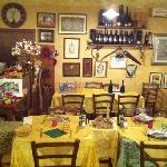 interno locanda San Leonardo