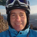Our resident Ski Instructor- George. He's a Level III instructor. Available for private lessons.