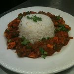 CHICKEN WITH BOILED RICE