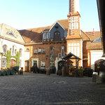 Innenhof der Nordhäuser Traditionsbrennerei