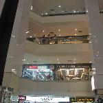 Many floors of shops
