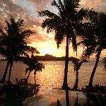 Sunset in Paradise - this was our view every night!!