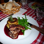Sample of the excellent food of Mojo bar Serre Chevalier, Villenueve,  Les Salle Les Alpes