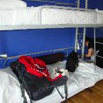 our bunks.
