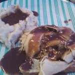 Open face Turkey with mashed potatoes & gravy