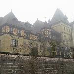 Schloss Cumberland im Nebel