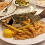 Isreali style fish and chips.....