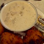 Chowdah and stuffies, wish I had some right now!