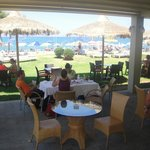 The Beach Bar/Restaurant!! : )