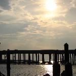 Sunset from harborwalk
