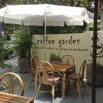 outside terrace at Coffee Shop