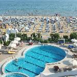 Hotel Galssia*** Jesolo Lido, pisicna spiaggia