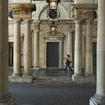 The entrance to The Courtauld Gallery