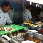 Kitchen at Camaron Dorado