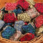 Welsh tapestry purses
