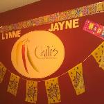 Our Birthday Banner at Chillis